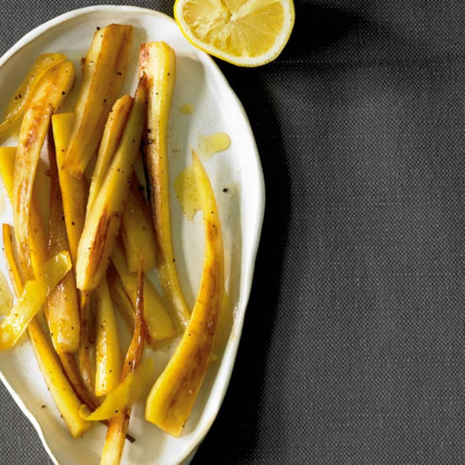 Pastinaken mit Zitronenbutter Rezept
