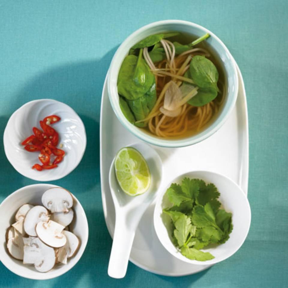 Asia-Suppe Rezept