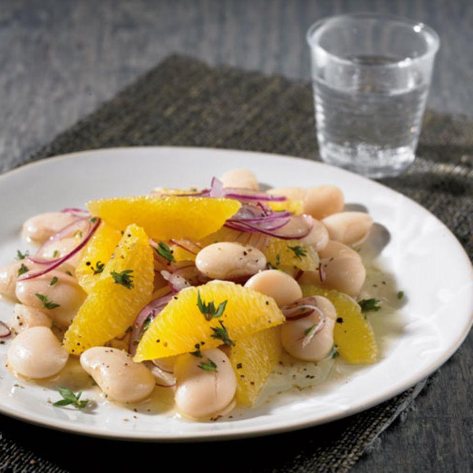 Bohnen-Orangen-Salat