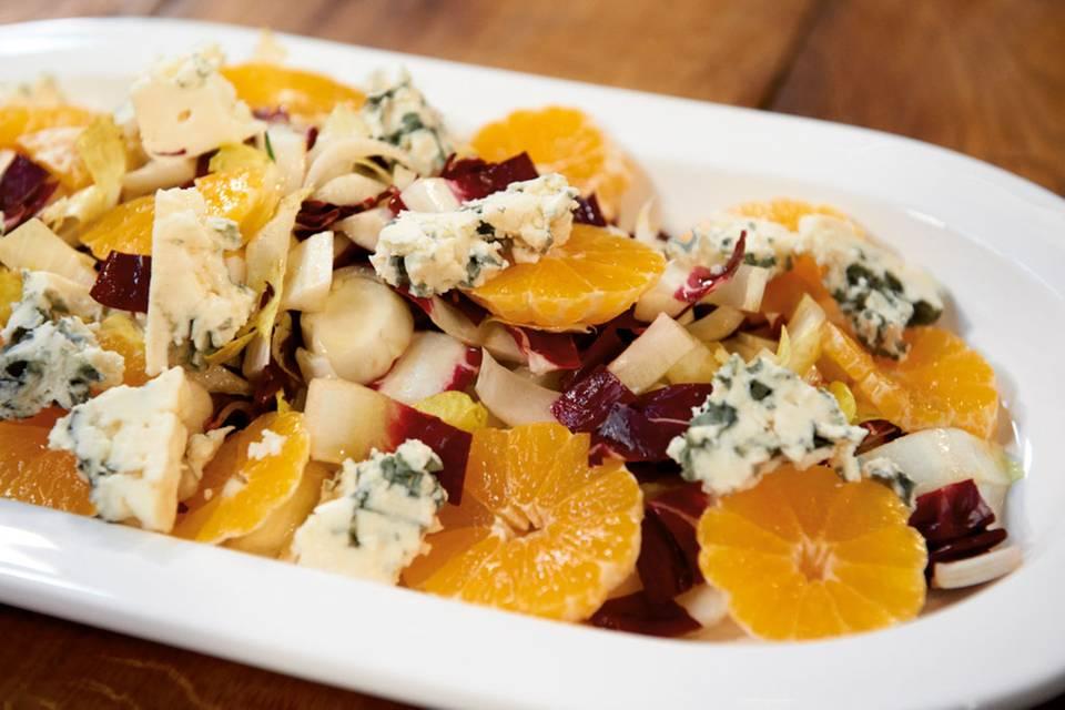 Chicorée-Salat mit Clementinen Rezept