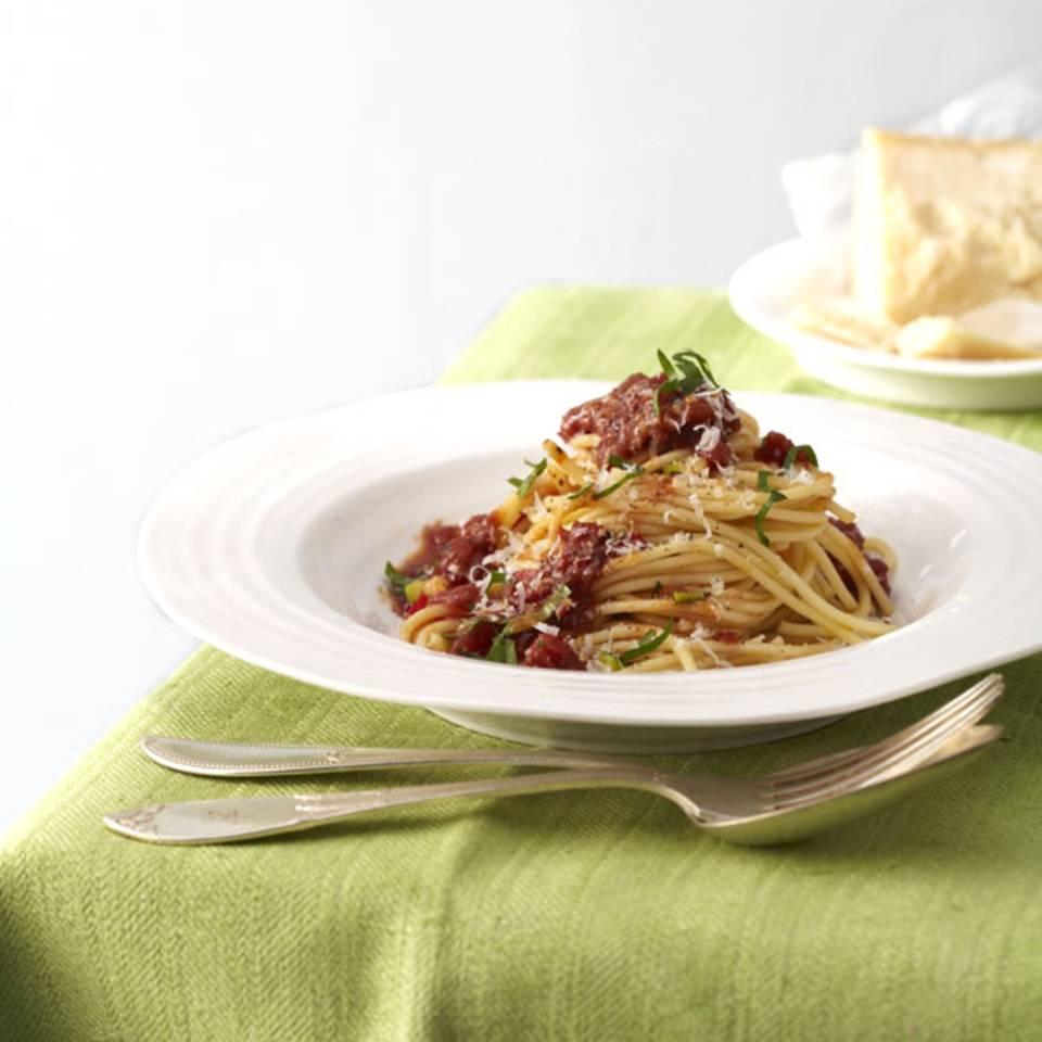 Gemüse-Bolognese Rezept