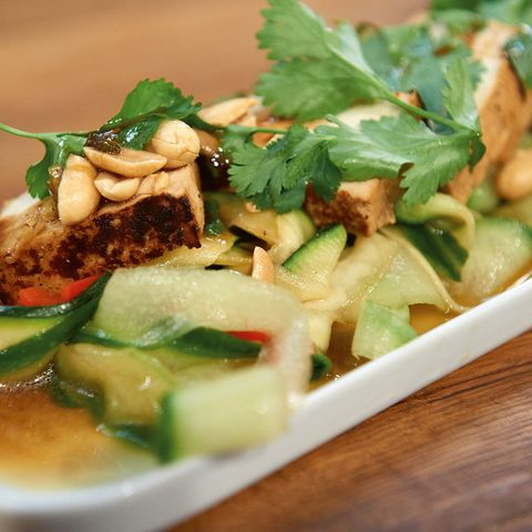 Gurken-Zucchini-Salat