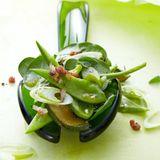 Grüner Spinatsalat