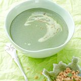 Spinat-Kokos-Suppe