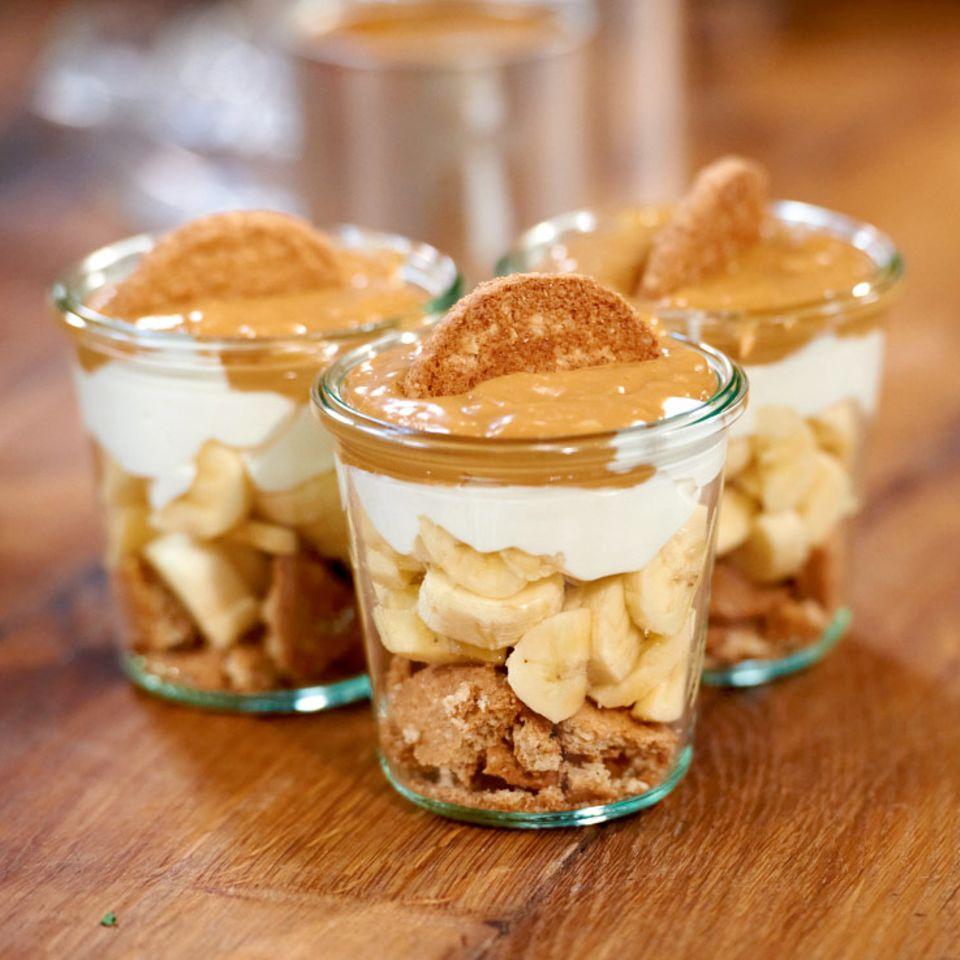 Ninas Bananen-Karamell-Dessert