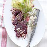 Rote-Bete-Salat mit Makrele