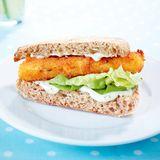 Fischstäbchen Sandwich