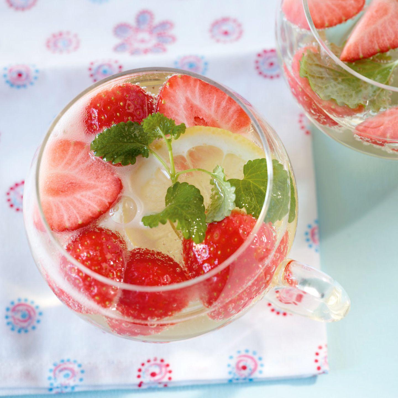 Erdbeerbowle