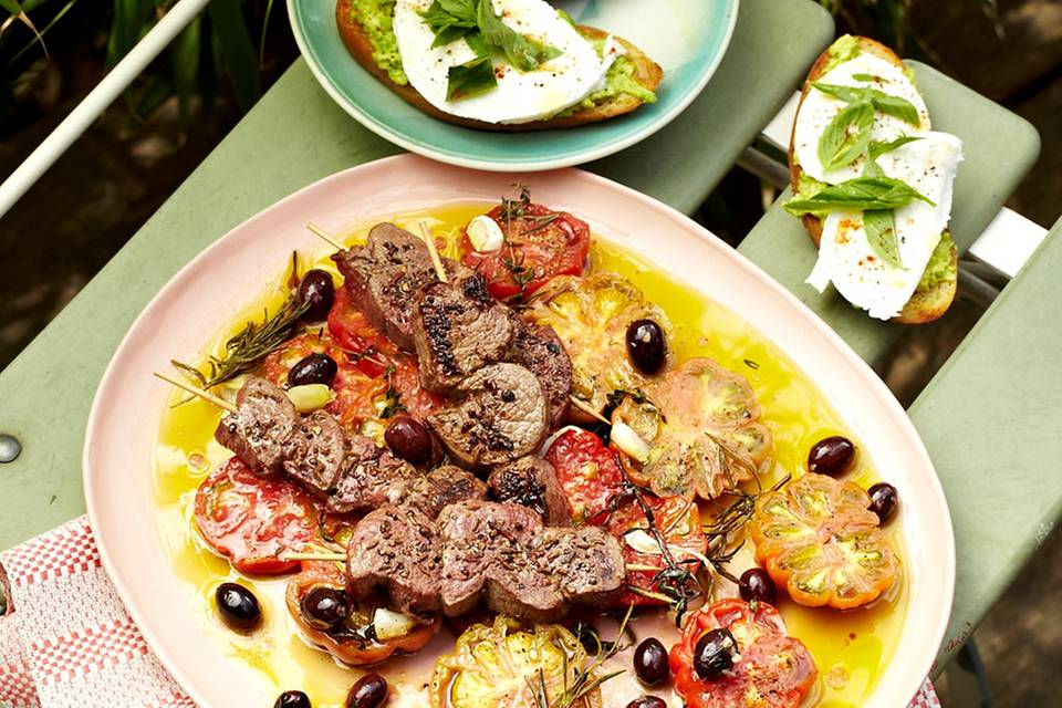 Bruschetta mit Avocado und Mozzarella Rezept