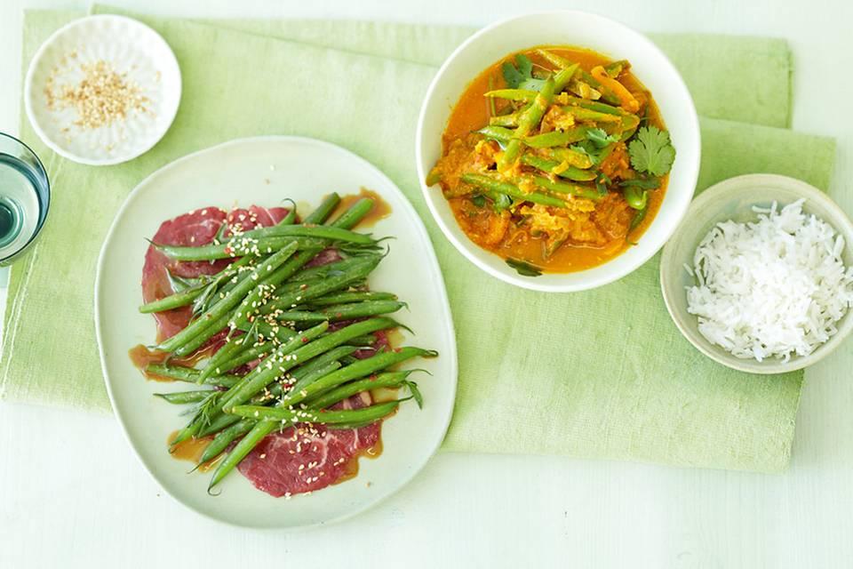 Bohnen-Curry Rezept