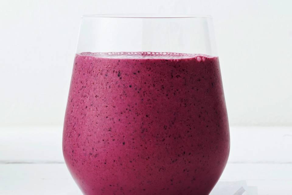 Smoothie mit Heidelbeer und Joghurt Rezept