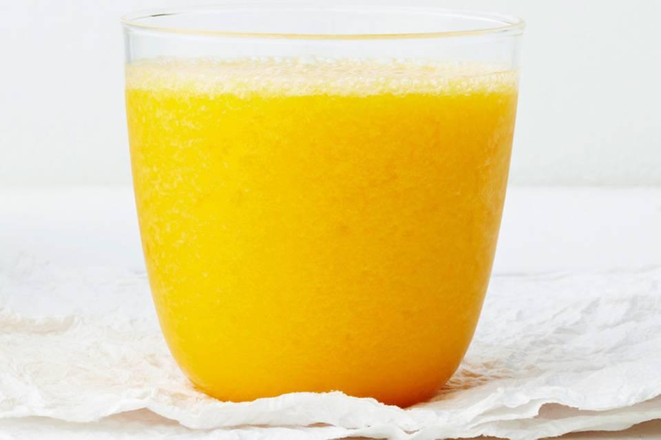 Smoothie mit Aprikose und Minze Rezept