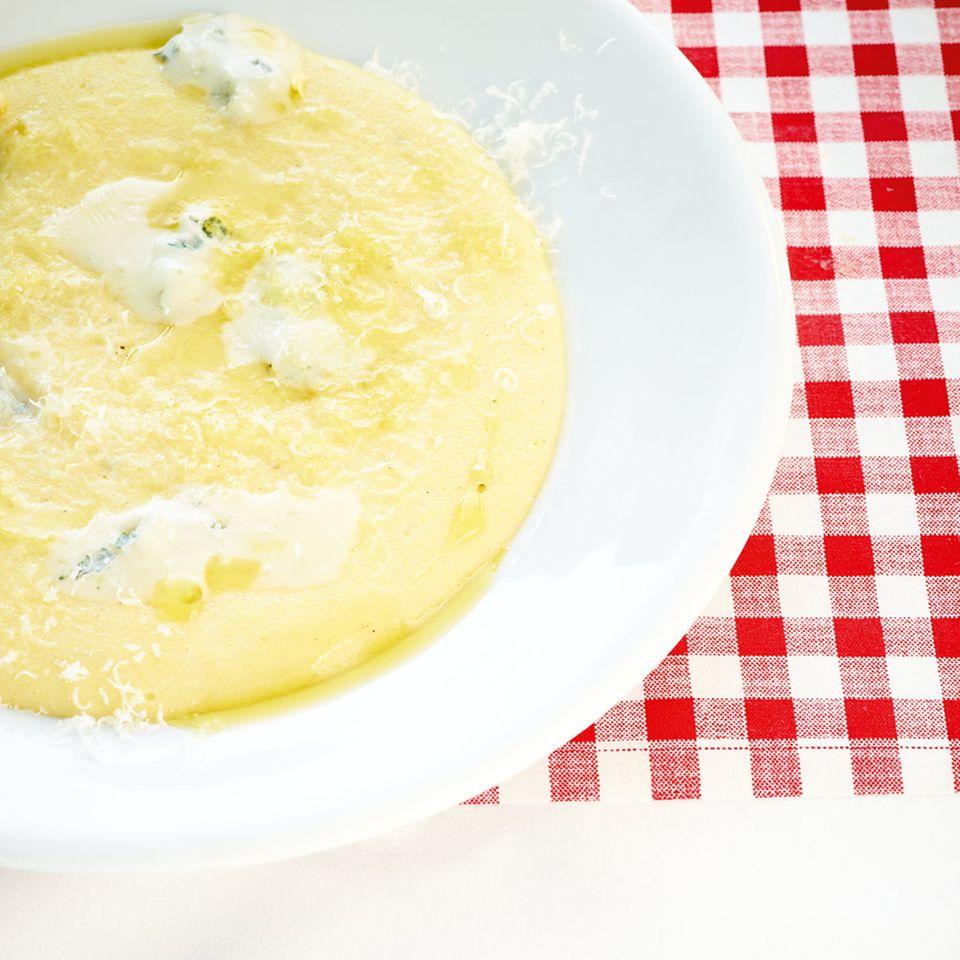 Polenta ai due formaggi