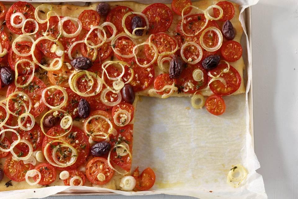 Tomatenpizza Rezept
