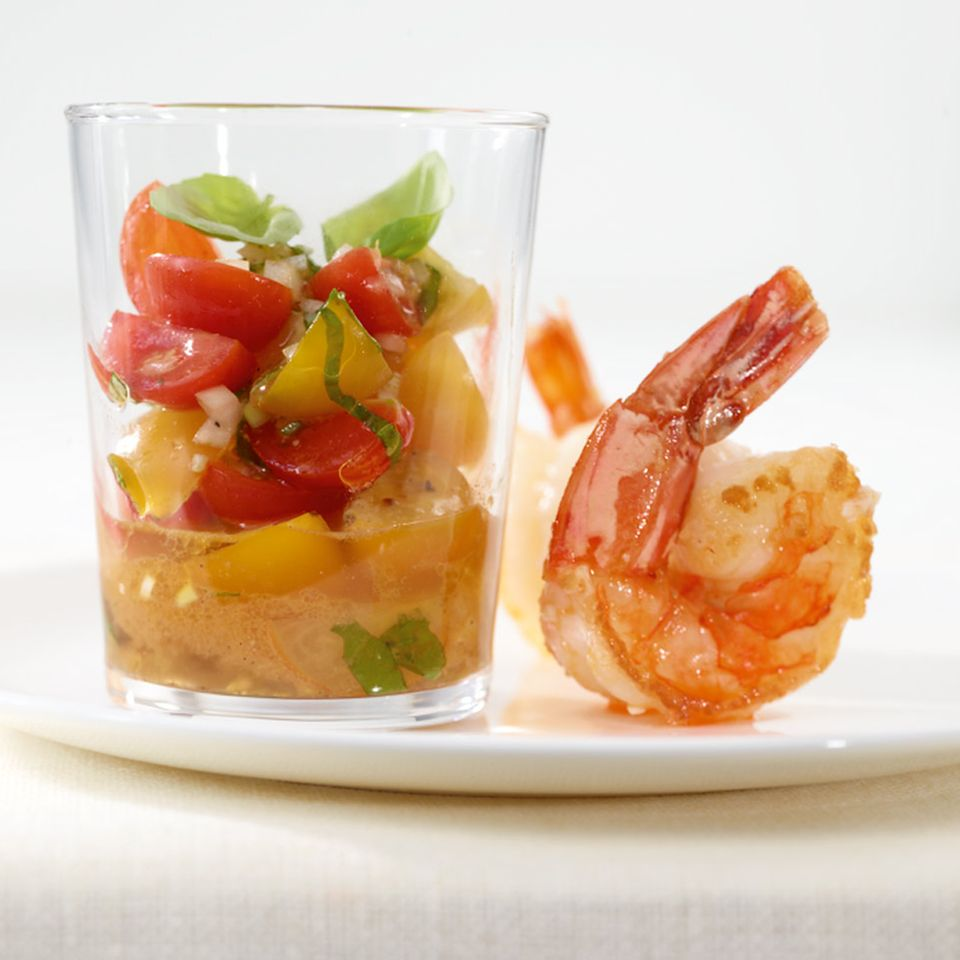 Bunte Tomaten-Salsa