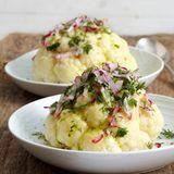 Blumenkohl mit Kräuter-Radieschen-Butter