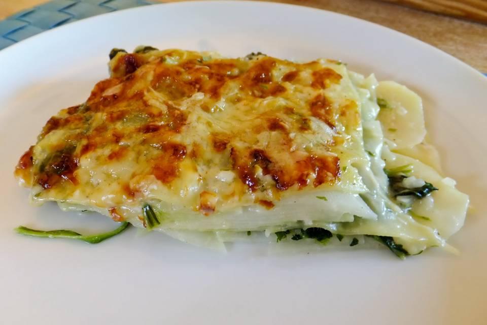 Kohlrabi-Lasagne Rezept