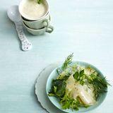 Marinierter Kohlrabi-Kräuter-Salat
