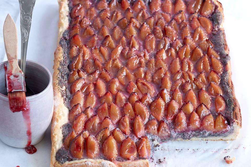 Zwetschgen-Mohn-Blechkuchen Rezept