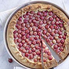 Stachelbeer-Marzipan-Kuchen