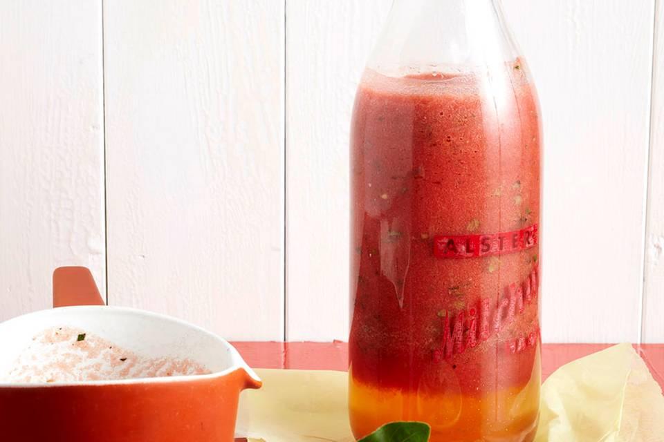 Scharfe rohe Tomatensauce Rezept