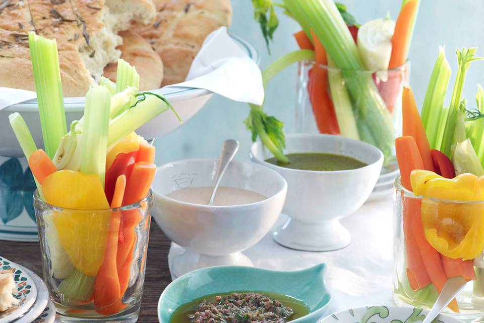 Blanchiertes Gemüse Rezept