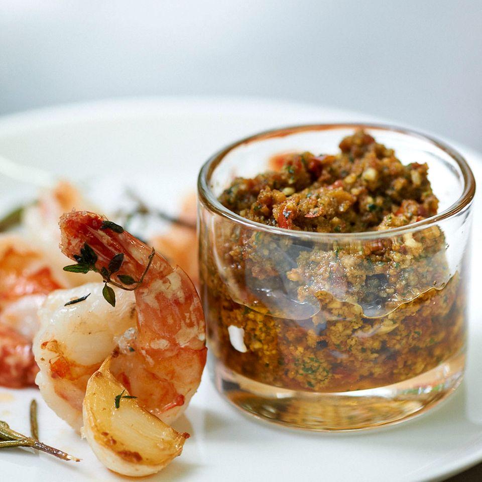 Tomaten-Basilikum-Pesto