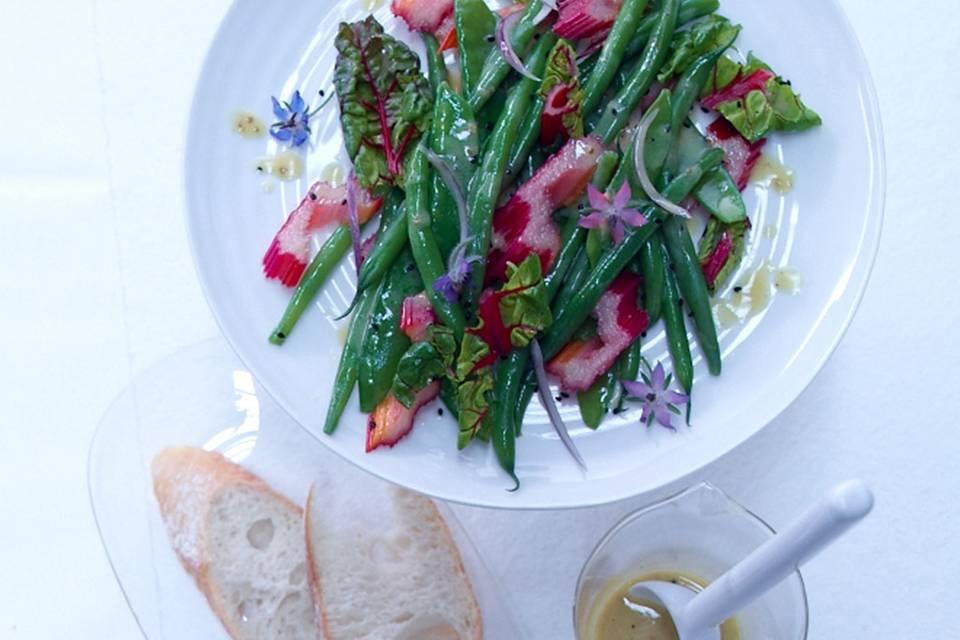 Mangold-Bohnen-Salat Rezept