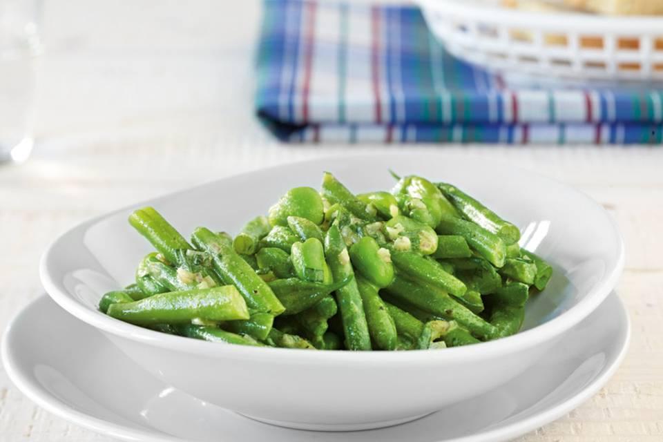Grüner Bohnensalat Rezept