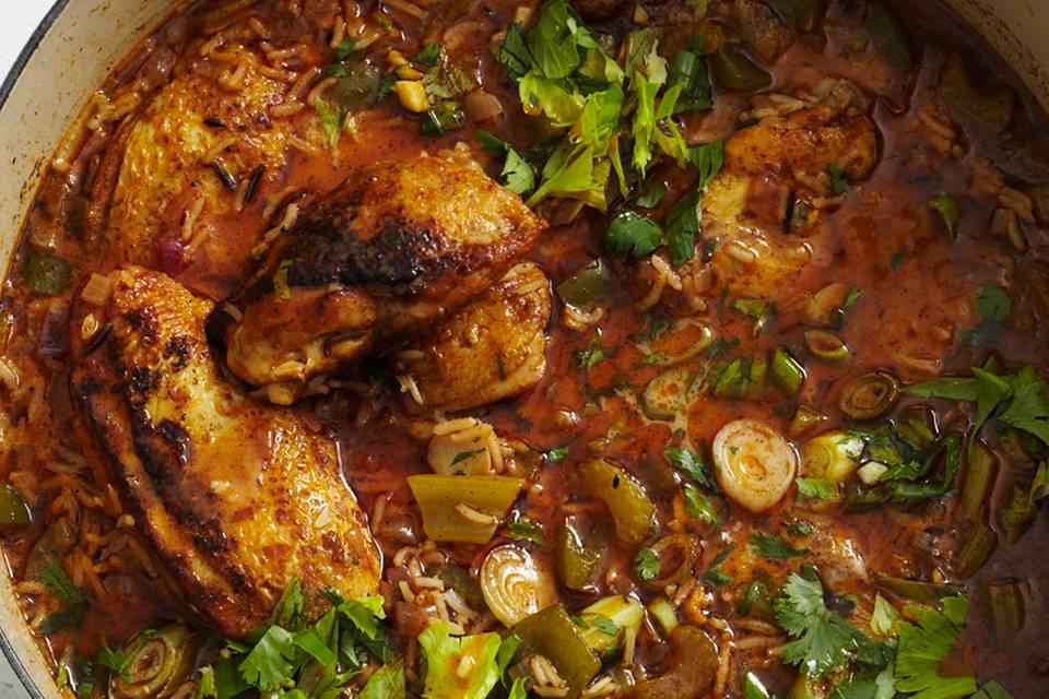 Kreolischer Hühnertopf Rezept