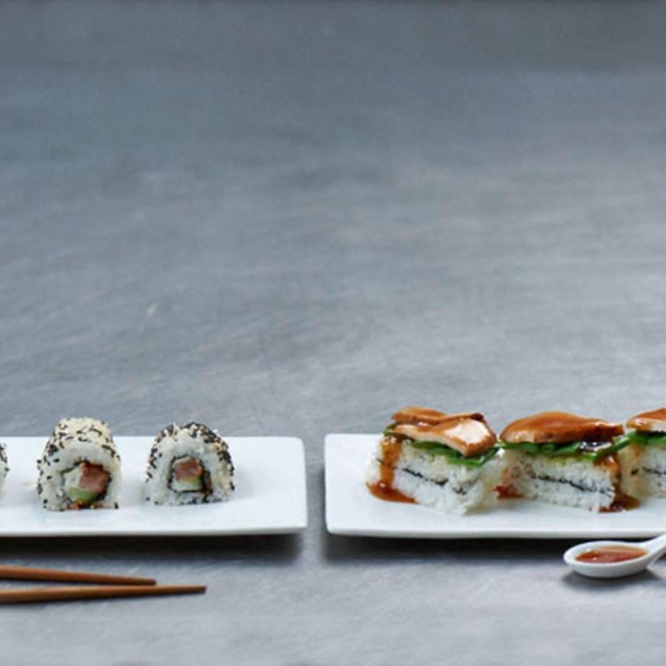Sushi-Schnitten Rezept