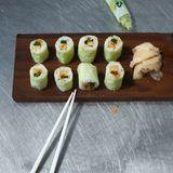 Soja-Rolle mit japanischem Omelette