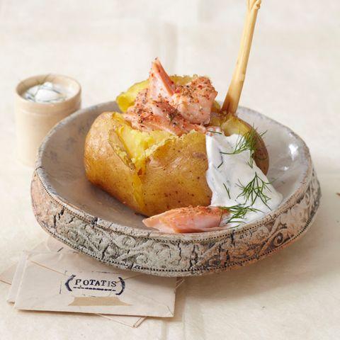 Ofenkartoffeln mit Gewürzlachs