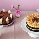 Schokomousse-Birnen-Torte