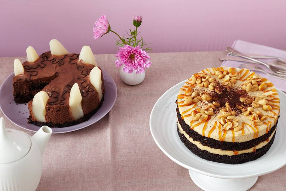 Erdnusscreme-Torte Rezept