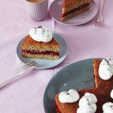 Haselnuss-Zwetschgen-Torte