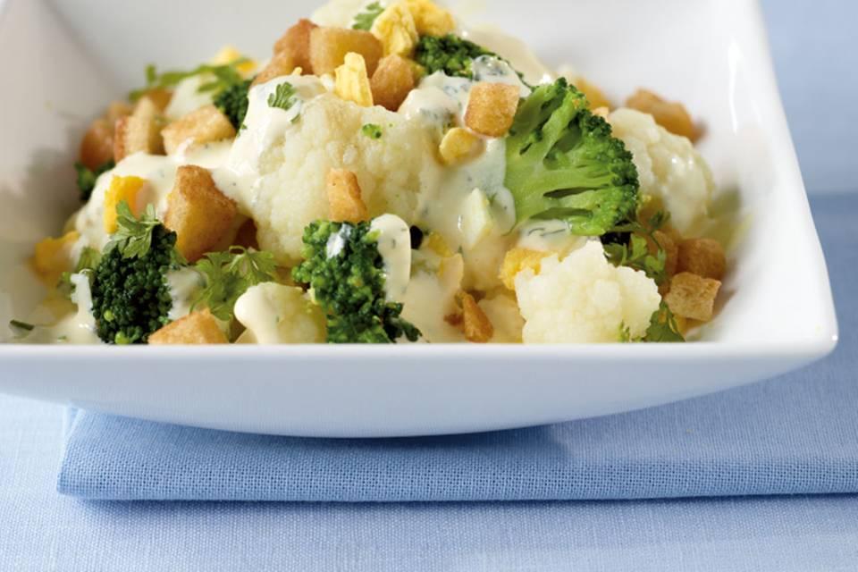 Blumenkohl-Broccoli-Salat Rezept