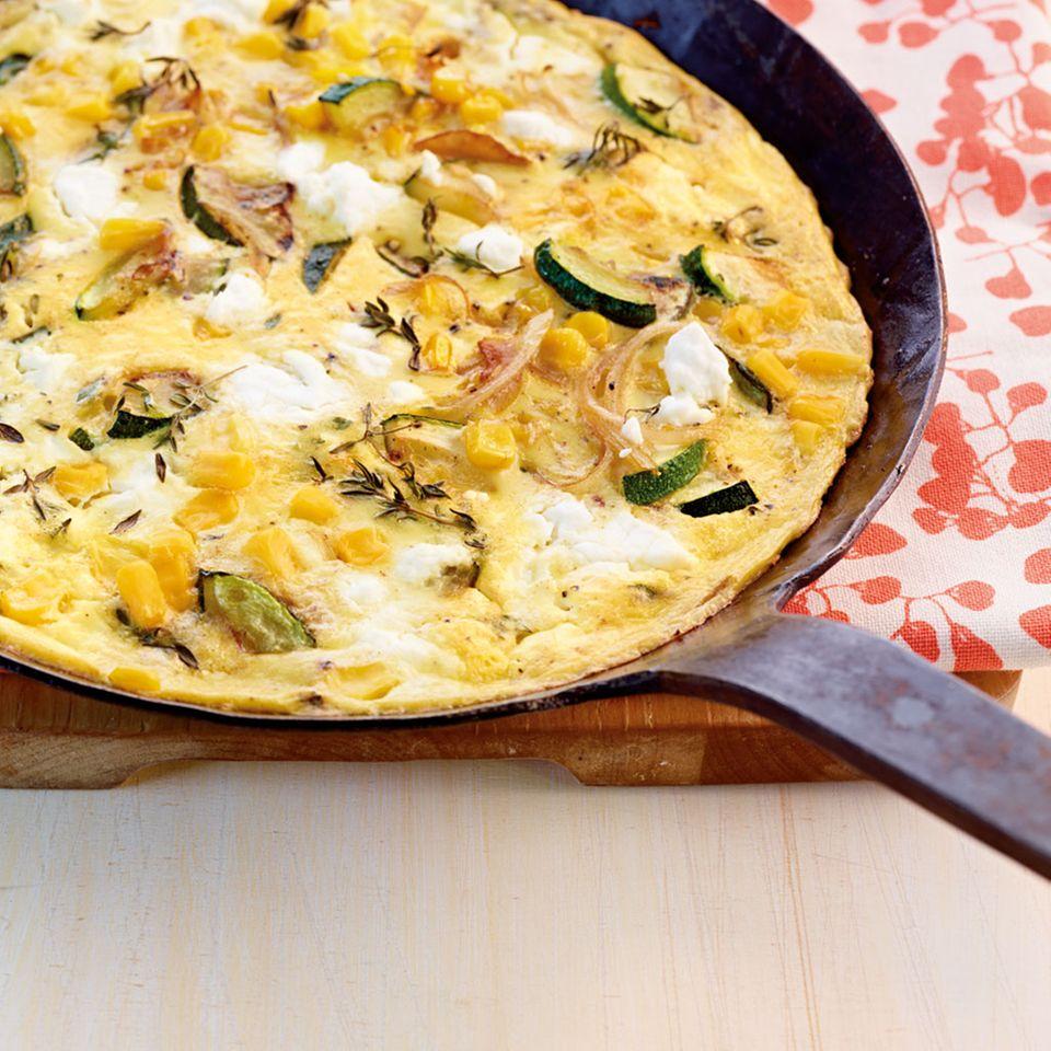 Mais-Zucchini-Frittata
