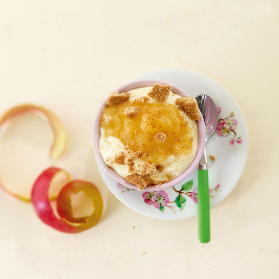 Apfel-Crunchy-Topping