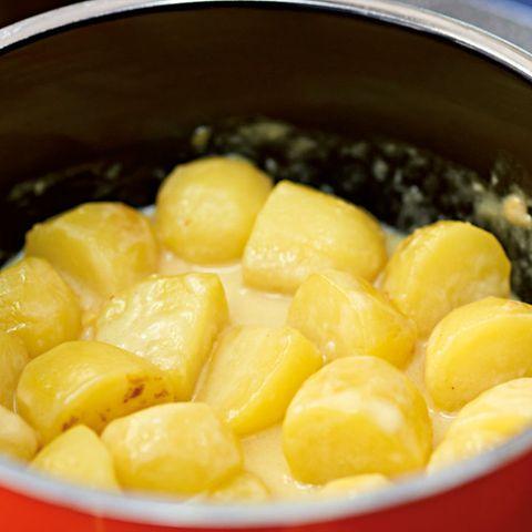 Sahne-Kartoffeln