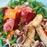 Rote-Bete-Salat mit Calamaretti