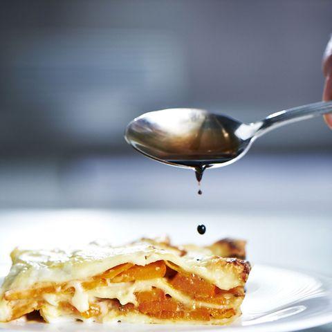 Lasagne mit Kürbis und Amaretti