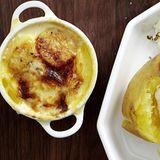 Kartoffelgratin mit Parmesan
