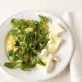 Feldsalat mit Apfeldressing
