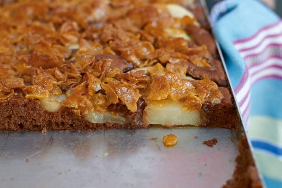 Schoko-Birnen-Kuchen Rezept