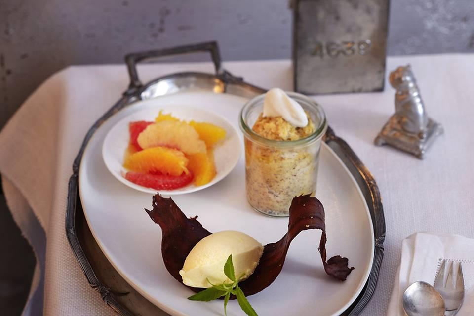 Mandarinen-Sorbet Rezept