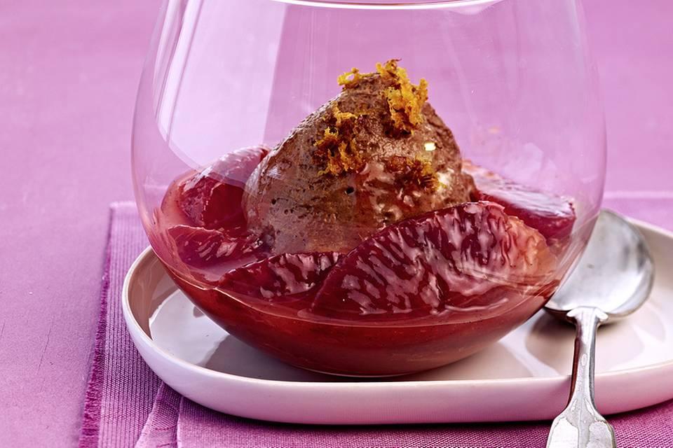 Orangen-Schoko-Mousse Rezept