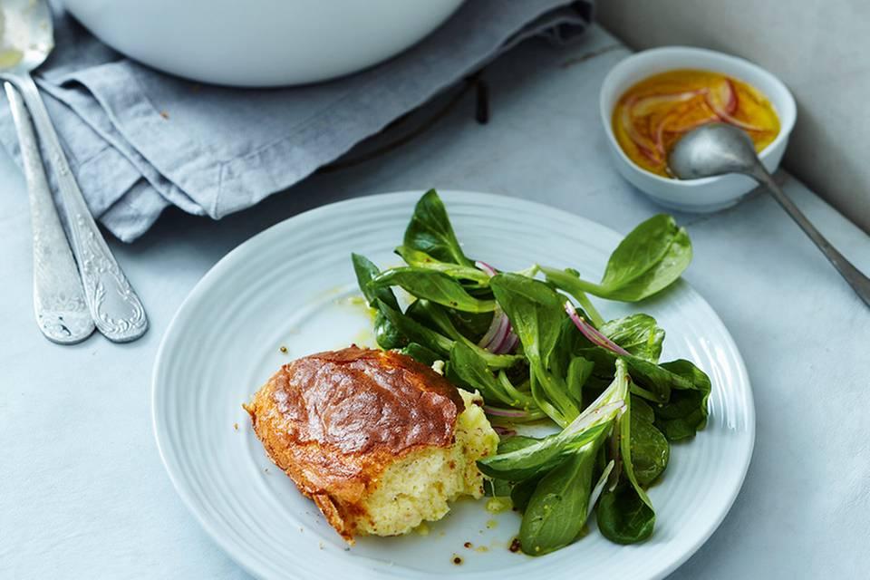 Käse-Soufflé Rezept