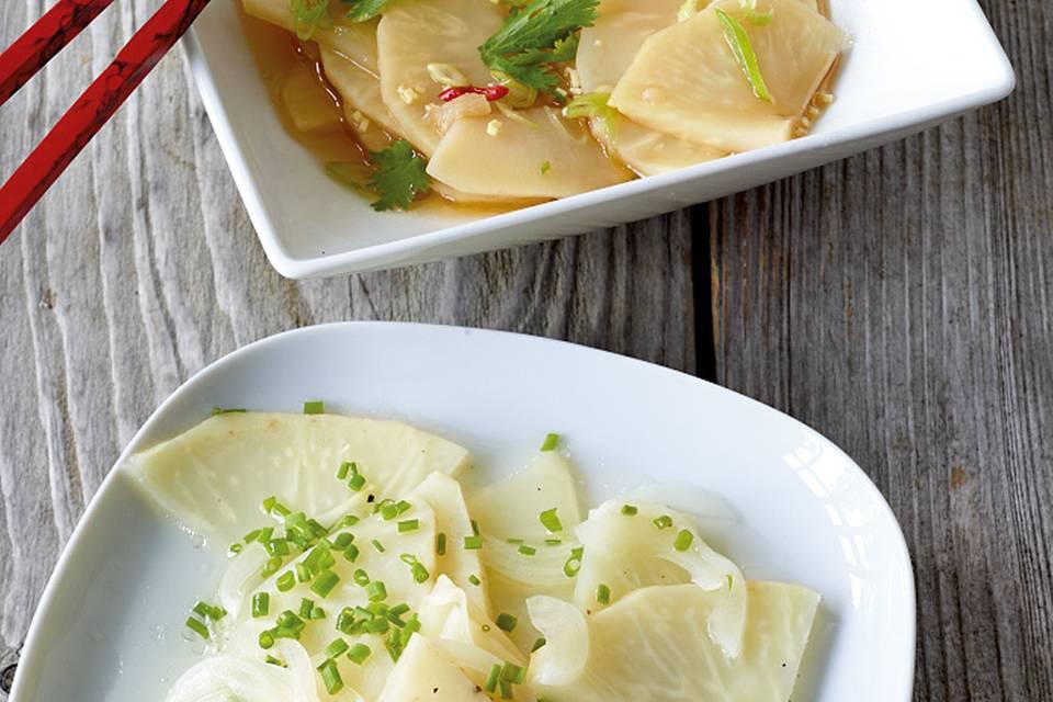 Selleriesalat asiatisch Rezept