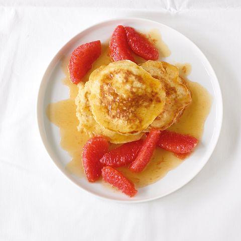 Pancakes mit Grapefruit
